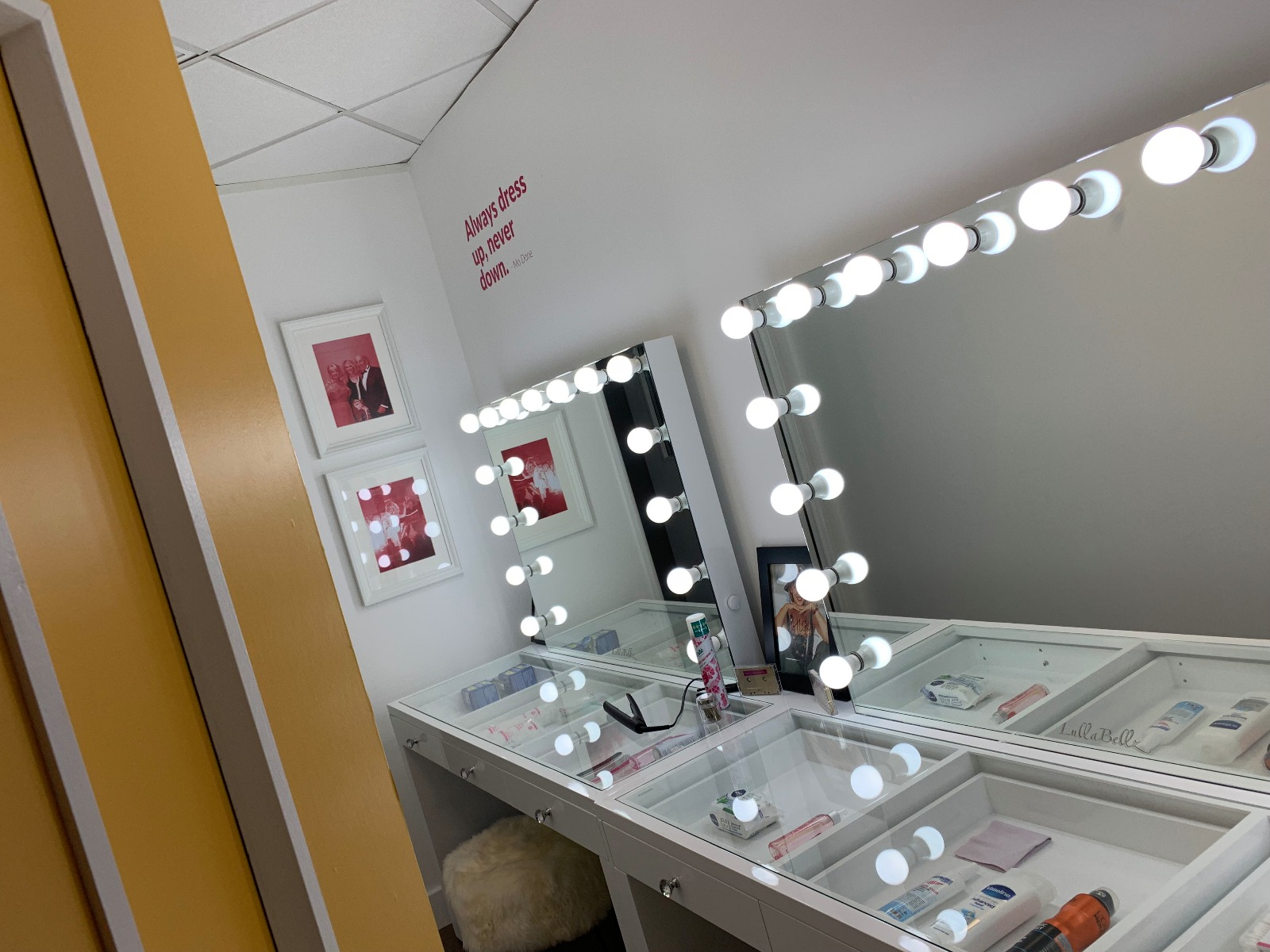 Kylies dressing room