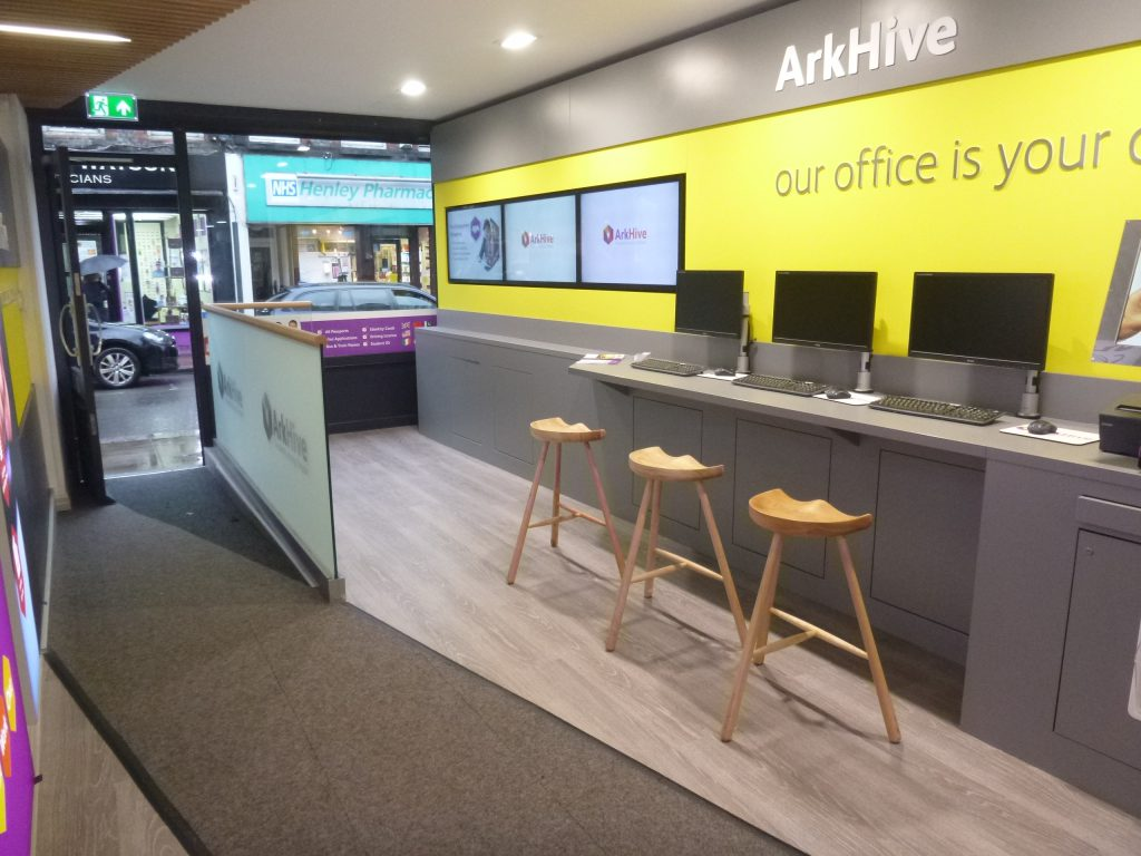 Arkhive retail design