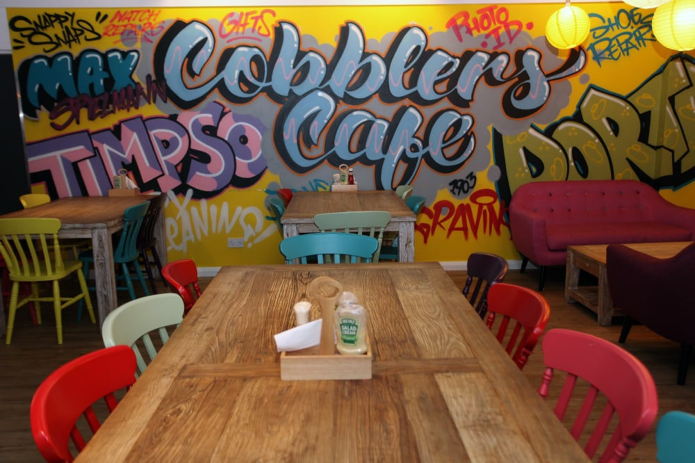 Timpson House Cobblers Cafe